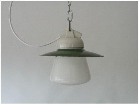 Opaline hanglamp 1