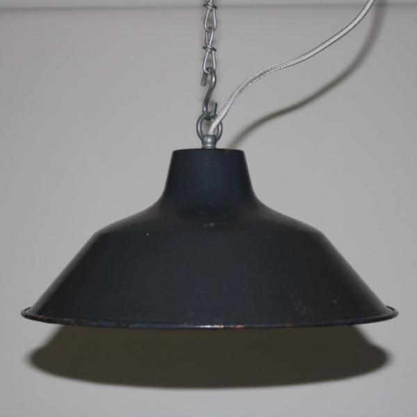 blauw geemailleerde hanglamp 01