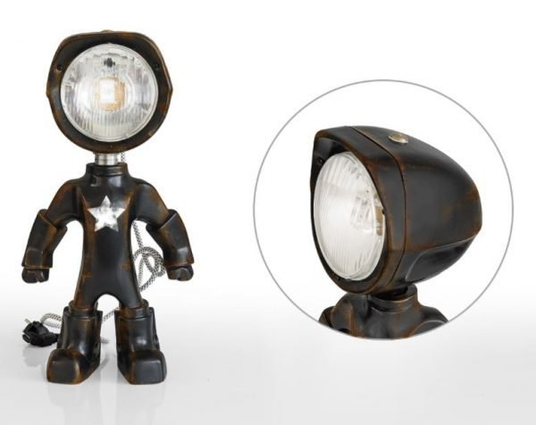 The Lampster army zwart