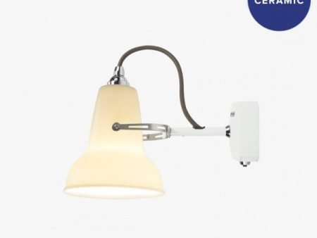 Original ceramic mini Anglepoise wandlamp BINK