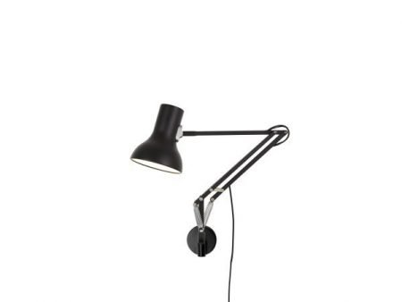 Anglepoise type 75 mini wandlamp Jet Black 1