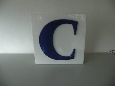 Letterlamp C