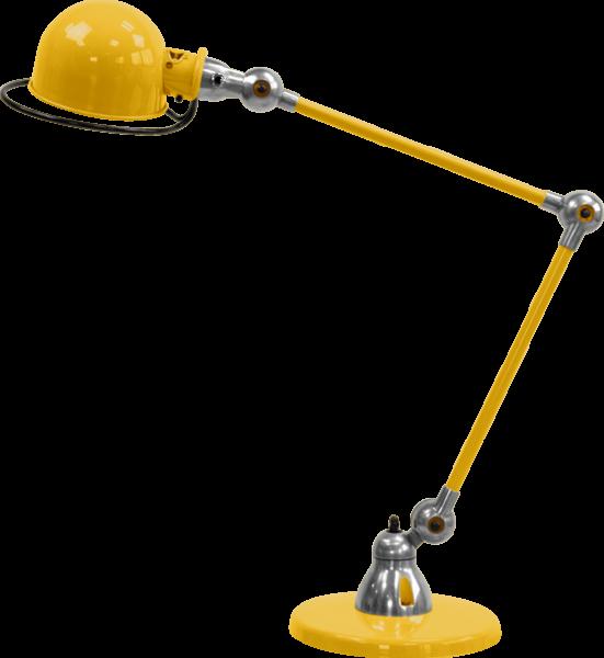 Jielde-Loft-D6440-bureaulamp-duo-Mosterd-RAL-1003