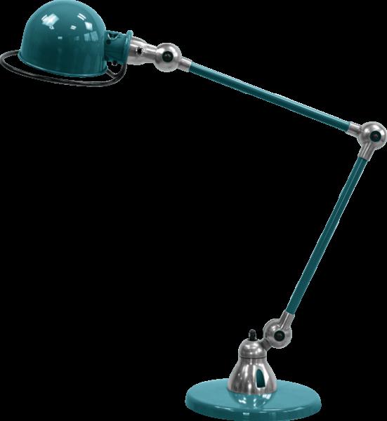 Jielde-Loft-D6440-bureaulamp-duo-Oceaan-Blauw-RAL-5020