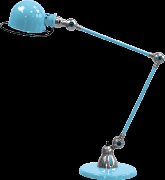 Jielde-Loft-D6440-bureaulamp-duo-Pastel-Blauw-RAL-5024