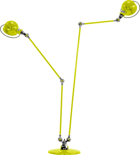 Jielde-Loft-D7460-vloerlamp-duo-Geel-RAL-1016