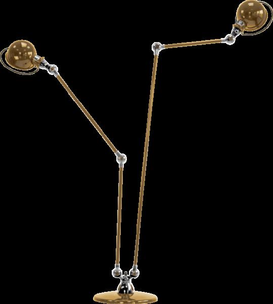 Jielde-Loft-D7460-vloerlamp-duo-Goud-RAL-1036