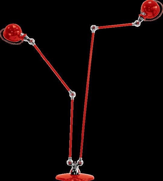 Jielde-Loft-D7460-vloerlamp-duo-Rood-RAL-3020