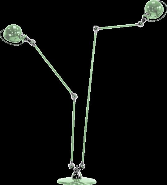 Jielde-Loft-D7460-vloerlamp-duo-Water-Groen-RAL-6019