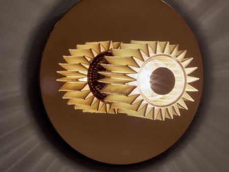 in the sun wandlamp goud goud in situ