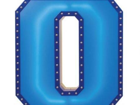 Delightfull letterlamp 0 frontaal 1