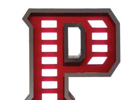 Delightfull letterlamp P front