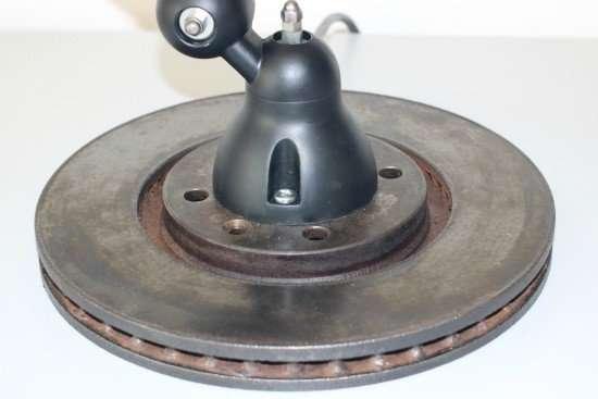 Jieldé vintage Loft voet detail