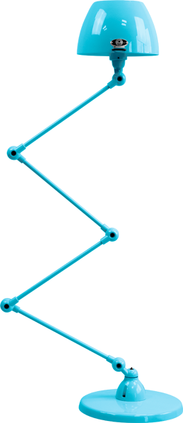 jielde-Aicler-AID433-vloerlamp-pastel-blauw-RAL5024-rond