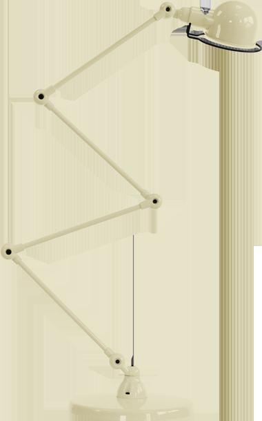 jielde-signal-SI433-vloerlamp-ivoor-RAL1015