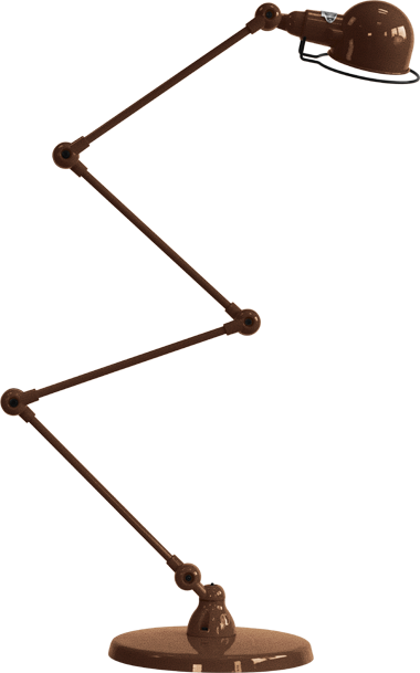 jielde-signal-SI433-vloerlamp-koper-hamerslag
