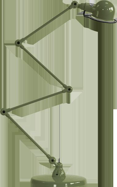 jielde-signal-SI433-vloerlamp-olijf-groen-RAL6003