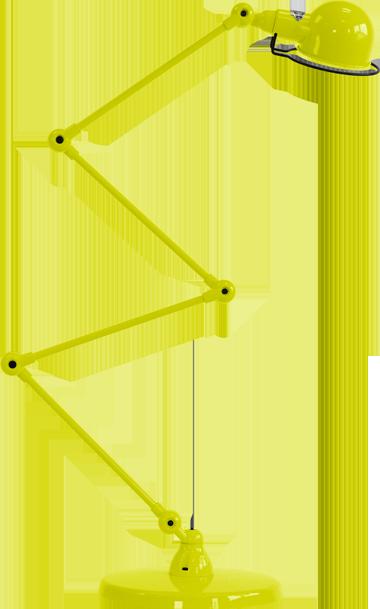 jielde-signal-SI433-vloerlamp-geel-RAL1016