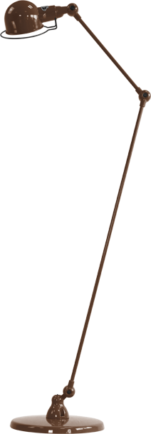 jielde-signal-SI833-vloerlamp-chocolade-RAL8017