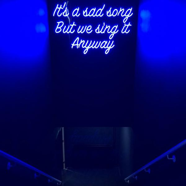 its a sad song